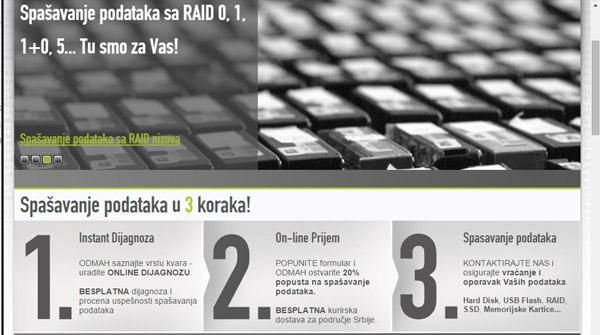 Dsol stari sajt u penziji (2011-15.)
